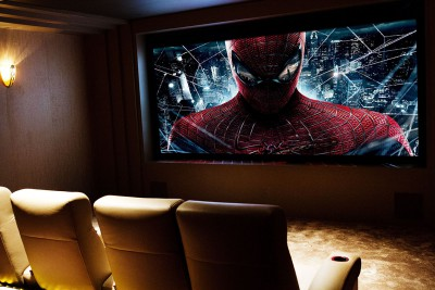 home theatre spiderman